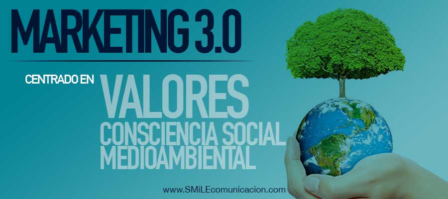 marketing 3.0 centrado en valores