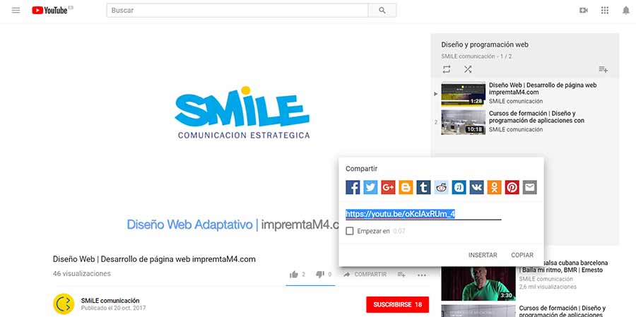SmileComunicacion-Insertar-embeber-o-agregar-un-video-en-una-entrada-de-WordPress-Editor-de-texto-de-WordPress-900x450