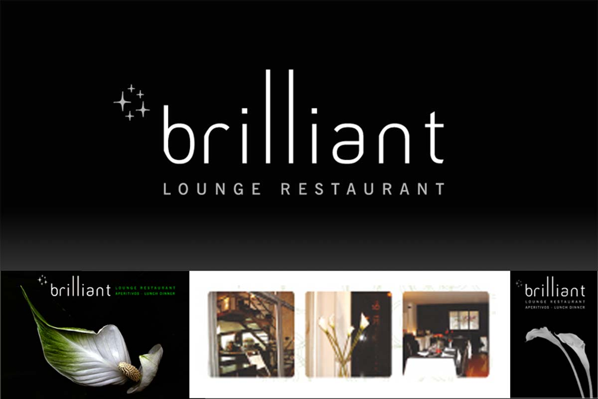 logo brilliant restaurante