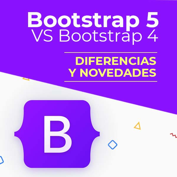 diferencia bootstrap 4 y bootstrap 5